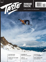 Abonnement op het blad Taste Snowboarding Magazine