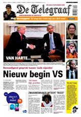 Cadeau-abonnement op Telegraaf abonnement