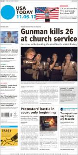 Abonnement op het dagblad USA Today