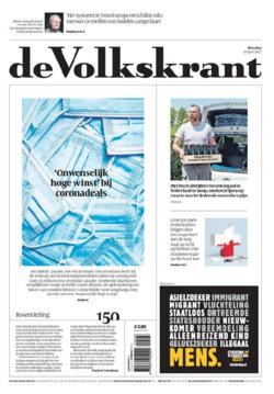 Poefabonnement Volkskrant 4 Weken Voor 1 Euro Per Week