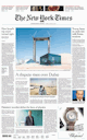 New York Times International Edition proef abonnement