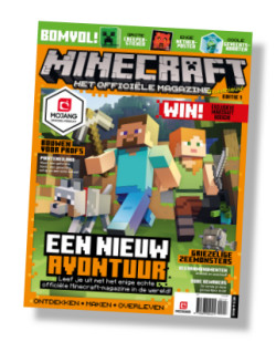Packshot Minecraft Magazine abonnement