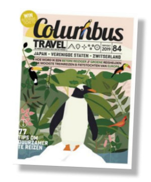 Packshot Columbus Travel proefabonnement