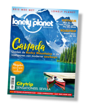 Packshot Lonely Planet cadeau-abonnement