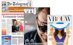 Packshot Telegraaf weekendabonnement