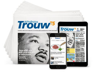 Packshot Trouw Dagblad abonnement