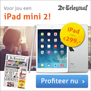 Telegraaf = gratis iPad mini kado